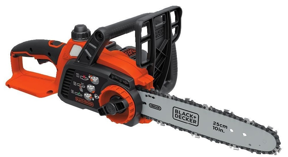 BLACK DECKER LCS1020 20V MAX Lithium Ion 10 in. Chainsaw