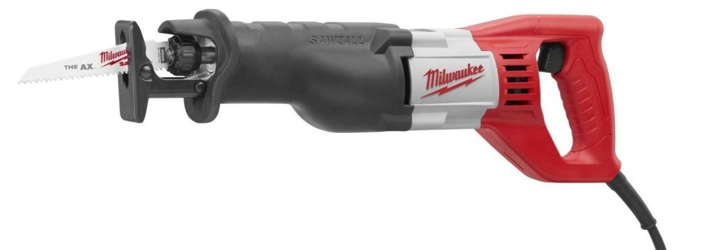 Milwaukee 6509 Sawzall Reciprocating saw review